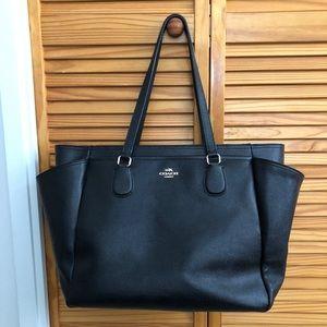 Coach Crossgrain Baby Bag